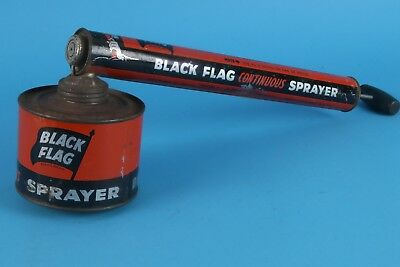 VINTAGE BLACK FLAG INSECT SPRAYER BOYLE MIDWAY INC 20 ounces