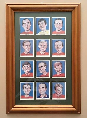 England 1966 World Cup Winners Framed Card Set Cecil Court Collectors Series