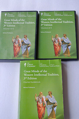 Great Minds of the Western Intellectual Tradition DVD + Book 3rd Ed. Courses