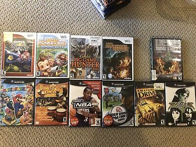 gamecube And Wii Games Lot