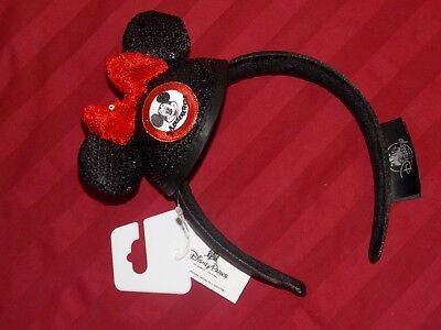 Disney Parks Mickey Mouse Club Mouseketeer Mini Ear Hat Sequin Headband New