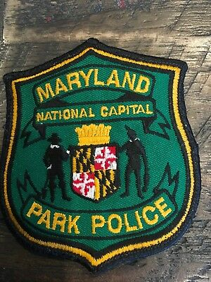 Maryland Nation Capital Park Police Patch