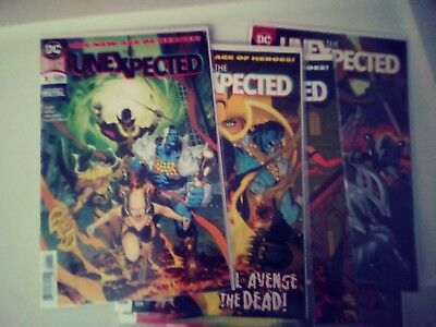 THE UNEXPECTED #1-6 DC Age of Heroes