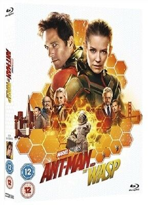 Ant-Man and the Wasp 09/18 (used) Blu-ray Only Disc Please Read