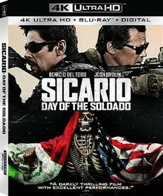Sicario: Day of the Soldado 4K UHD 4K (used) Blu-ray Only Disc Please Read