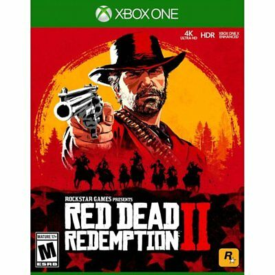 Red Dead Redemption 2 - Xbox One Brand New Factory Sealed