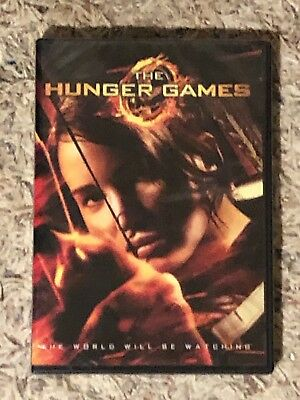 The Hunger Games DVD Sealed