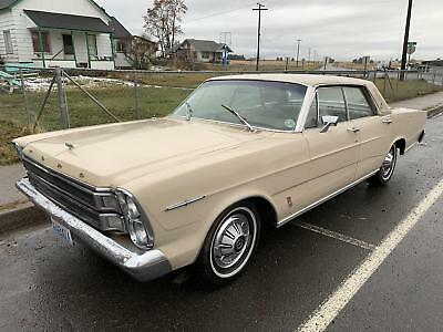 1966 LTD 4 Door Hard Top 1966 Ford LTD 4 Door Hard Top 13,500 Miles yellow LTD 390 Automatic
