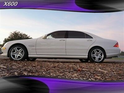 2005 S-Class S 55 AMG 2005 Mercedes-Benz S-Class, Alabaster White with 154,671 Miles available now!