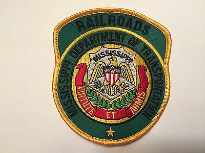 Mississippi Railroads Police Patch
