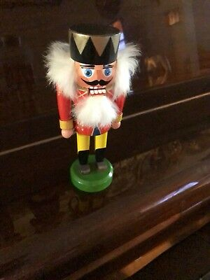 "Vintage 8"" T Nutcracker Made in Germany"
