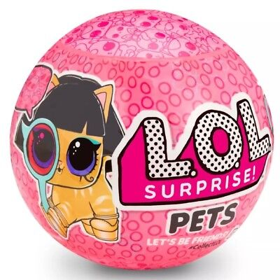 Authentic LOL Surprise! Eye Spy Pet Ser 4 Wave 2 LOL Ball by MGA Dolls -IN HAND!