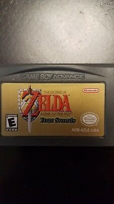 The Legend of Zelda Four Swords Game Boy Advance: A Link to the Past; GBA