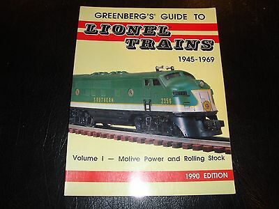 Greenbergs Guide To Lionel Trains 1945-1969 1990 Edition