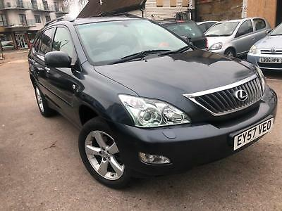 Lexus RX 350 3.5 auto LE LIMITED EDITION 2007(57) 1 FORMER OWNER SAT NAV