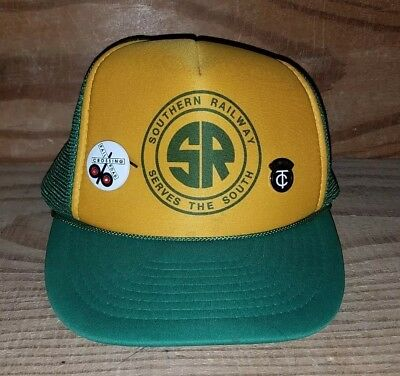 Southern Railway Serves the South Adjustable Snapback Hat Railroad