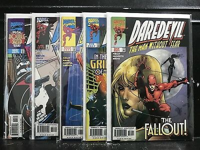 Lot of 5 Daredevil #371 372 373 374 375 (1964 Marvel) Combined Shipping Deal!