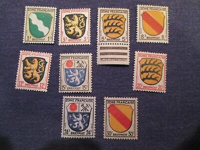 German WWII French Occupation Stamps Mint Hinged OG