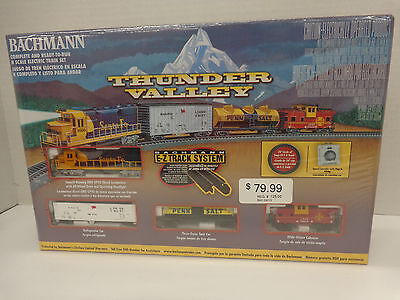 Bachmann #24013 N Scale Thunder Valley Electric Train Sets New In Original Box