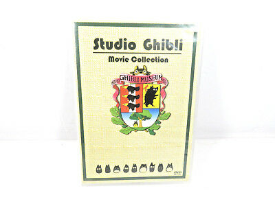 Movie original Studio Ghibli DVD set Collection Box  English DISC 5 IS MISSING