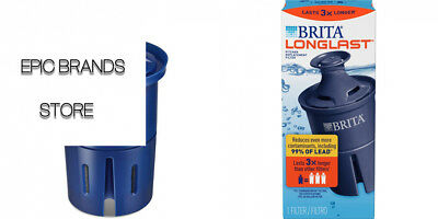 BRITA 10060258362432 LONGLAST Replacement Water Filter for Pitchers