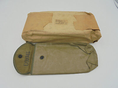 NOS IN Package WW2 Rare Gas Trap USGI M1 Garand Cleaning Kit Pouch - PKG of 10