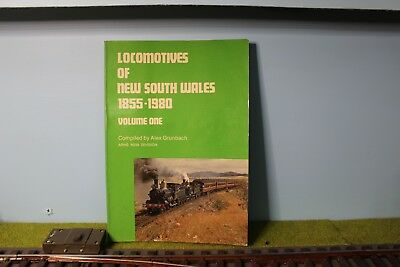 Locomotives of New South Wales 1855 - 1980 Vol One