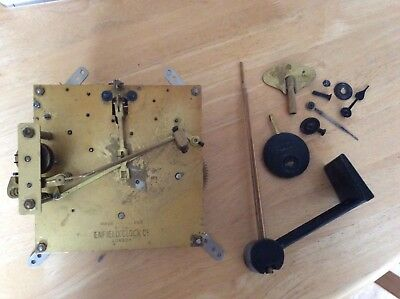 Westminster Clock Parts - Mechanism, Chime, Pendulum, Key, Hands Etc