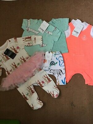 Next Bnwt Baby Girl Clothes Bundle Age Newborn Up To One Month