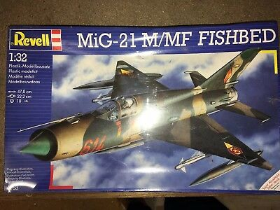 Revell 1:32 MiG-21 M/M/F Fishbed