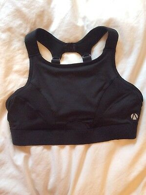 e16929438a BN Ladies Black Extra High Impact Non Padded Sports Bra Size 36B