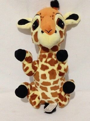 Disney Parks Animal Kingdom Plush Stuffed Baby Giraffe Lovey 11 IN Brown Black