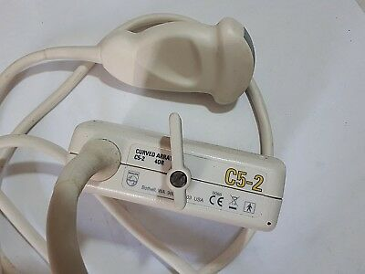 Philips C5-2 40R curved array ultrasound probe