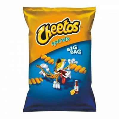 FRITO LAY CHEETOS SPIRALS 85gr CHEESE & KETCHUP SNACK AMERICANI FORMAGGIO PUFF