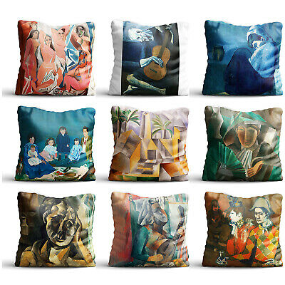 Painting By Pablo Picasso High Quality Silk Pillowcase Sofa Decor Cushion Cover
