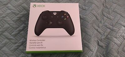 Official Xbox One & One S Wireless Controller - Black NEW