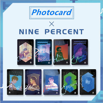 9pcs/set Cpop Nine Percent New Album HD Photocard To The Nines Paper Photo Cards