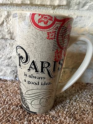 Paris Coffee Mug 20 Oz Ceramic Eiffel Tower