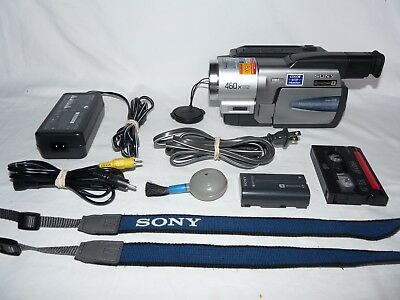 Sony Handycam CCD-TRV58 8mm Video8 HI8 Camcorder Player Camera Video Transfer