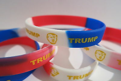 Donald Trump - Lot Of (3) Wristbands - Bracelet- President Limited Edition