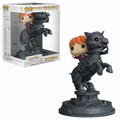 Funko Pop! - Ron Weasley Riding Chess Piece - Harry Potter - Producto Oficial