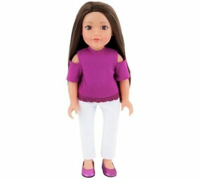 Chad Valley Designafriend Abi Doll - 18inch/45cm Find Yourself Dancing Singing
