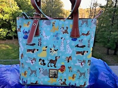 New With Tags Dooney Disney Dogs Tote Purse 🐕 Fabulous Placement🐶