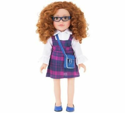 Chad Valley Designafriend Ella Doll School And Hanging Out With 18inch/45cm NEW