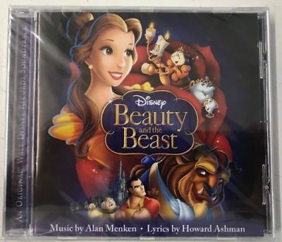 Disney Music Beauty And The Beast CD Soundtrack Album New Sealed Free P & P