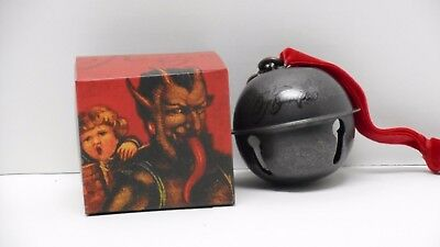 Nerd Block Horror Block Exclusive Krampus Bell Christmas Ornament