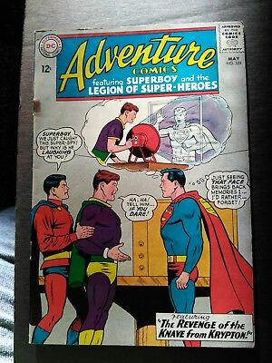 1964 #320 Dc Adventure Comics Superboy  Silverage Super Unreal Glossy Colors