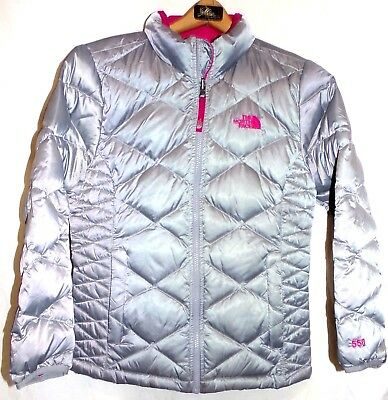 60b469e2f THE NORTH FACE Girls Aconcagua 550 Down Filled Coat Size-Large