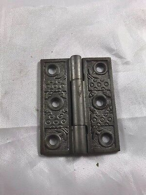 Eastlake Victorian Hinge Antique Collectible Hardware Cast Iron