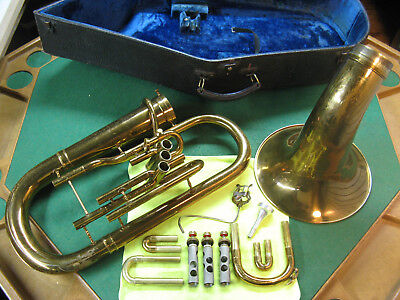 Hamilton Euphonium - Conn 52I Stencil - Excellent Playing Horn with Case and MP